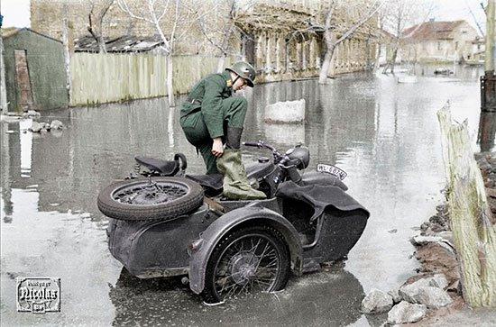 Весна, наводнение 1942 года